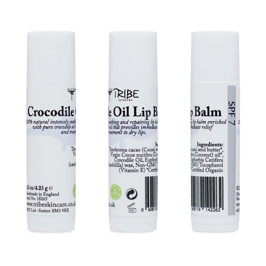 Crocodile Oil Lip Balm SPF7 (Pack of 3)