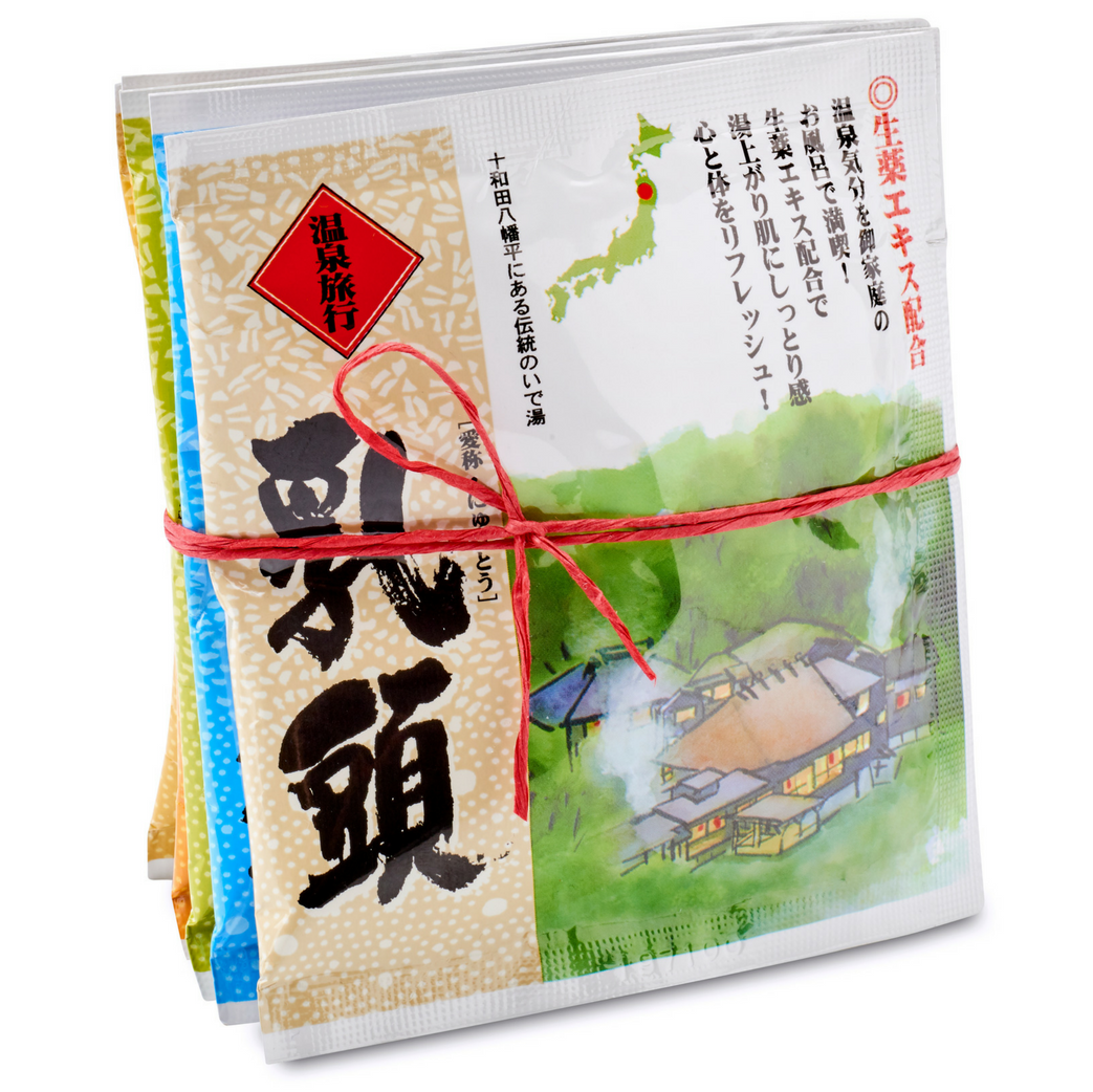 Natural Hot Spring Bath Powder Shirahama Pack