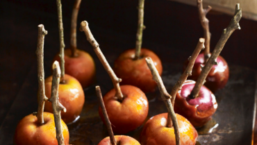 Autumn Baked Organic Apples