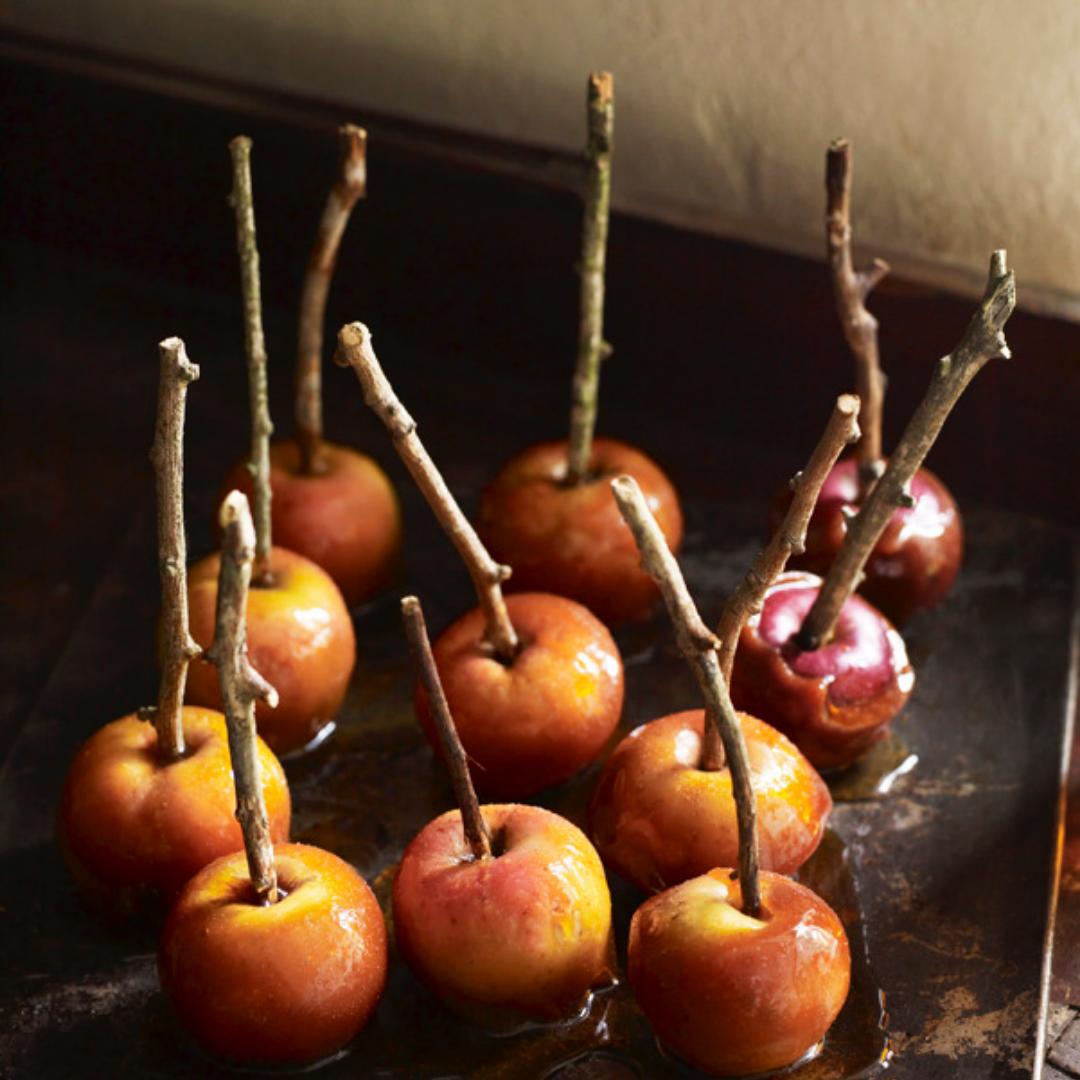 Autumn Baked Organic Apples