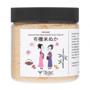Japanese Organic Rice Bran Gentle Facial Cleanser