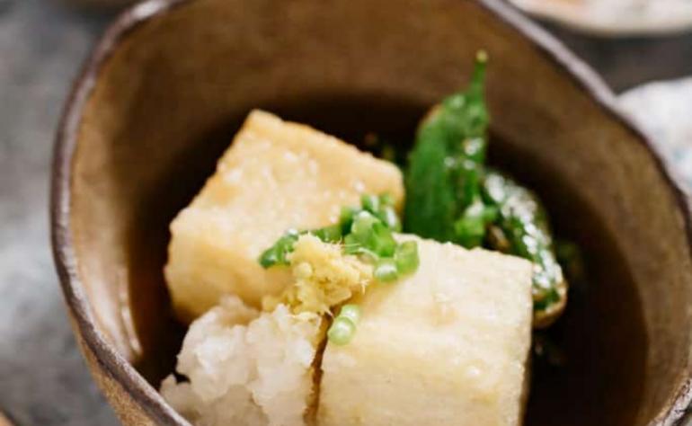 Agedashi Tofu (揚げ出し豆腐)